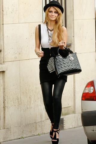 Mischa+Barton+Lady+Dior+Bag