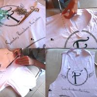 Customização de camisas - Santa Feijuca