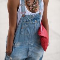 Macacão Jeans, eu amo!