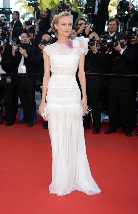 DIANE KRUGER at Killing Them Softly Premiere at Cannes Film Festival