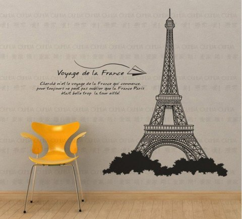 Paris-Eiffel-Tower-DIY-wall-sticker-paper-wall-decor-decal-large-3424-149-87-8cm-wholesale