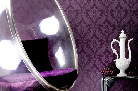 Purple-Damask-Home-Wallpaper-Decor-Image